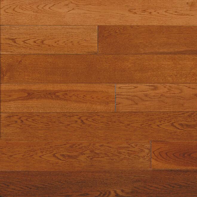 Oak Hardwood flooring - Gunstock