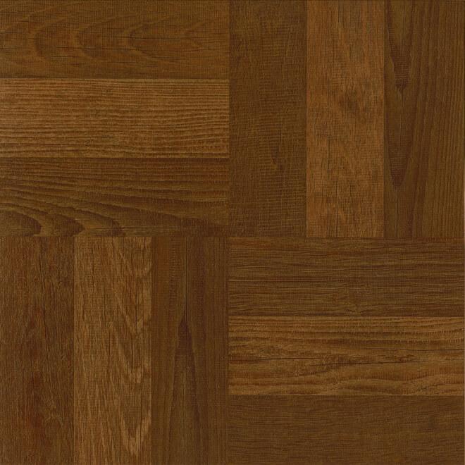 Vinyl Floor Tiles - Cognac