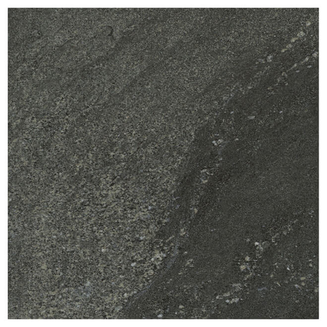 "Vinyl Floor Tile - 12"" x 24"" - Black - 10 Box"